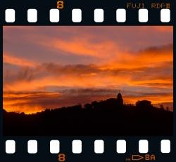 Artadi at dawn - Zumaia.