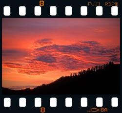 Sunset in Izarraitz - Azkoitia