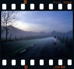 In the morning fog - Endoia - Zestoa.