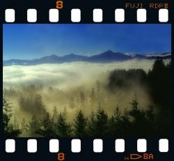 Fog in Trabakua - Bizkaia.