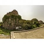 Fuerte en ruinas, Nueva Delhi