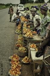 A pie de carretera, Burkina Faso.