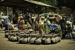 Mercado Boubon, Niger.