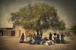 Mercado Tuareg, Malí.