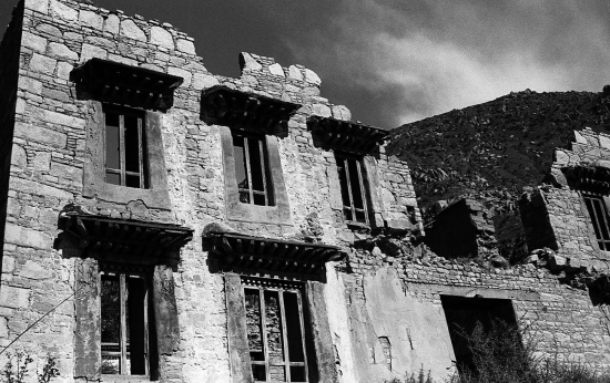 Antiguo monasterio Drepung, Lhasa 2002