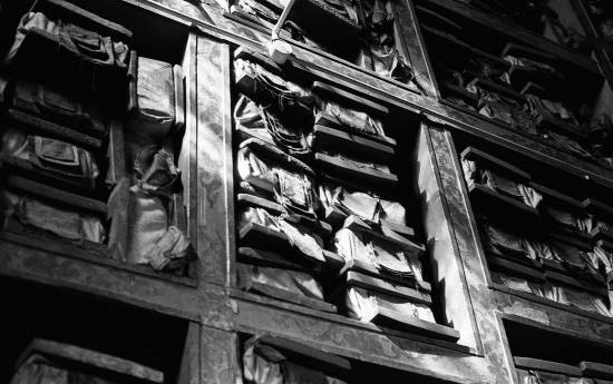 Versos sagrados budistas. Drepung, Lhasa 2002