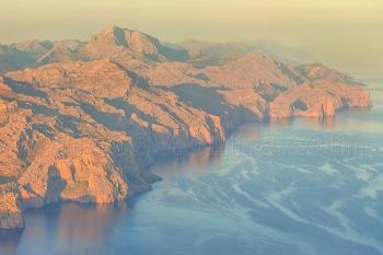Sierra de Tramuntana y marina de Escorca al amanecer, Mallorca