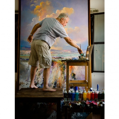 Armando Villalón - Pintor