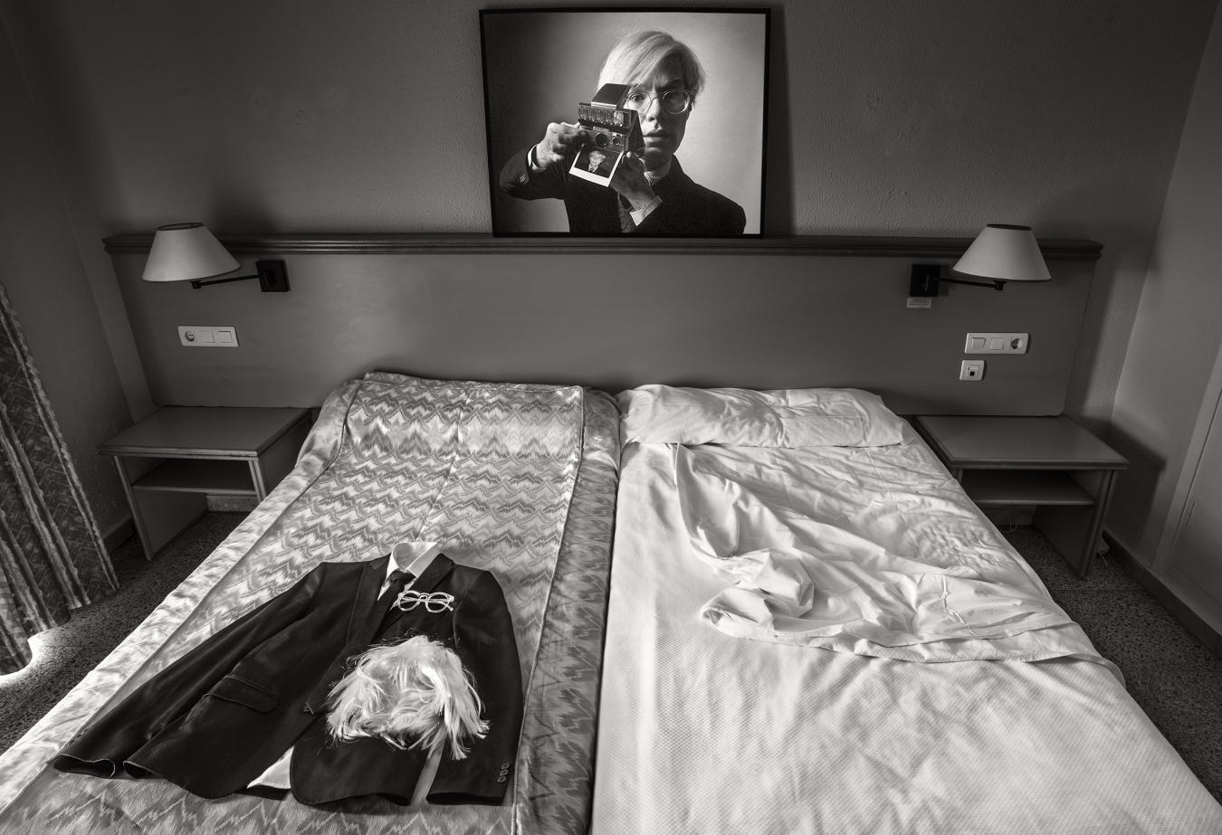 ANDY WARHOL, HUELWARHOL - PIEZAS INDIVIDUALES - MARÍA CLAUSS, Fotógrafa