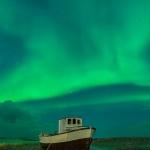 The boat & The Aurora