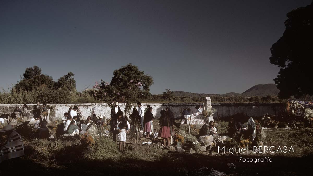 Dias de Difuntos Color. México - Miguel BERGASA, Fotografía