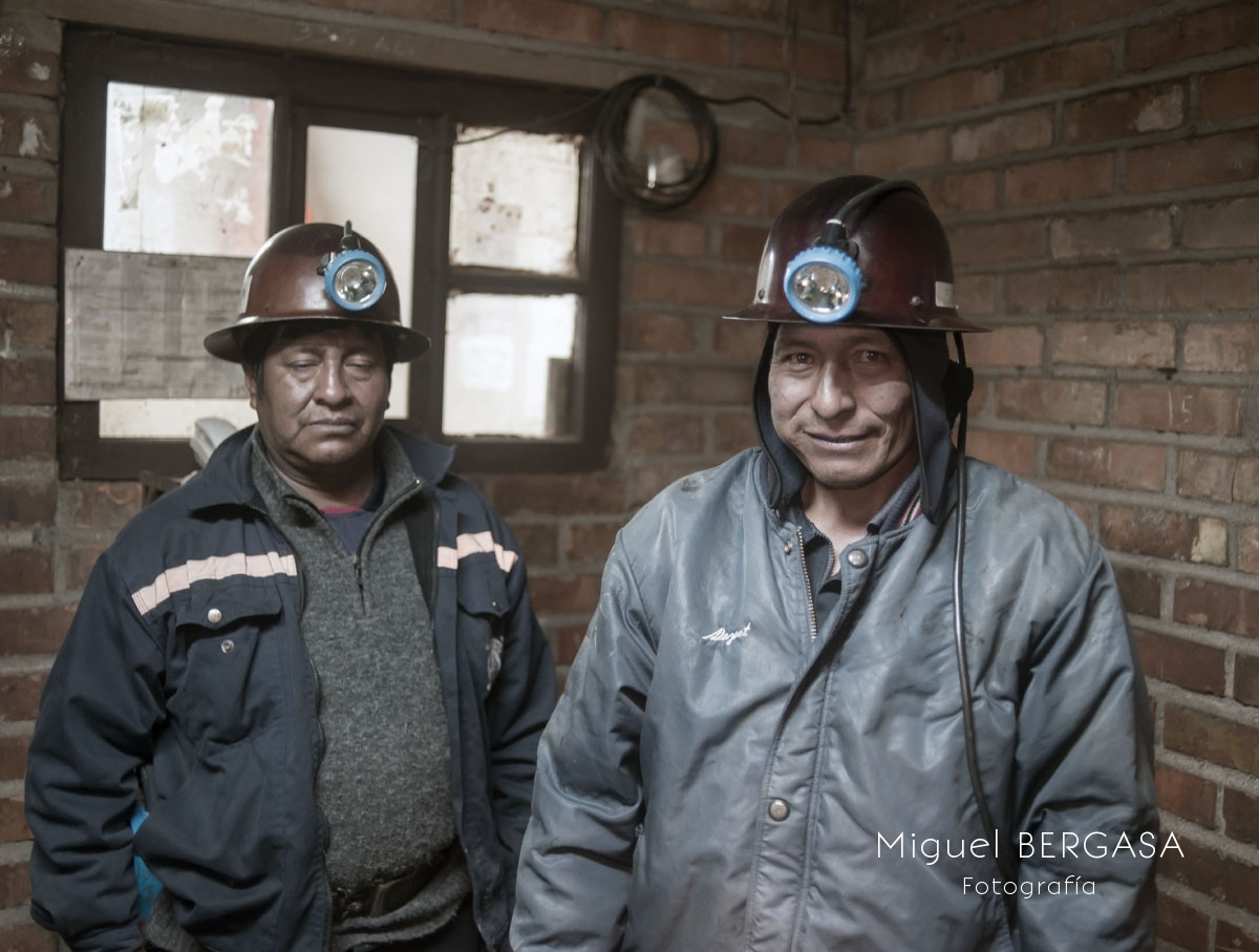 Minas y Mineros. Bolivia - Miguel BERGASA, Fotografía