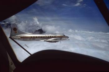 Convair CV-440 sobre los Andes