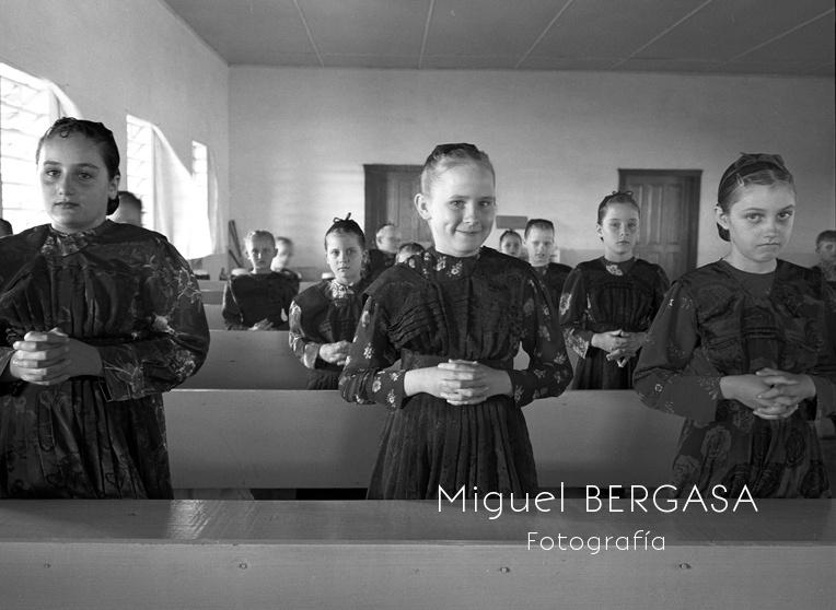 Mennonitas - Mennonitas. Miguel Bergasa