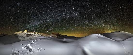 Vía Lactea desde el Teleroca