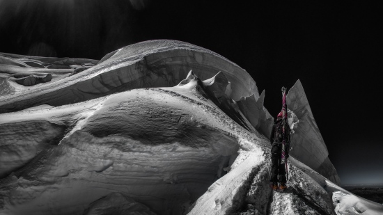 Mont Blanc de Tacul, Marta Hekneby