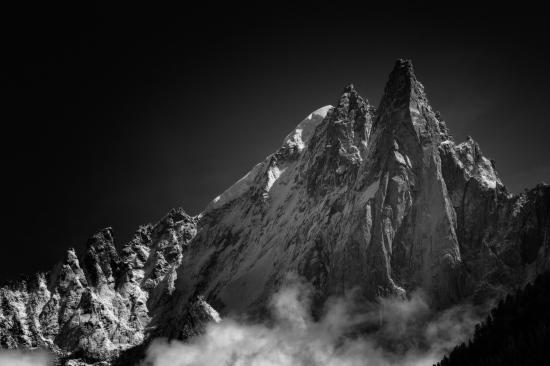Les Drus y Aiguille Verte, Chamonix