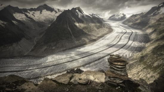Glaciar Aletsch 2