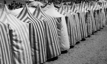Casetas de playa | 2014 | Zarautz, España
