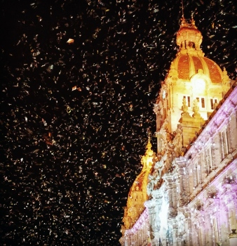 Celebración navideña | 2014 | Plaza de María Pita - A Coruña, España