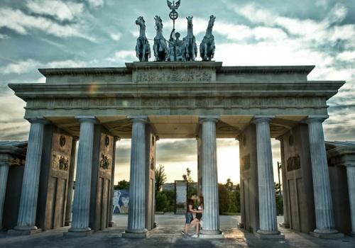 Preboda Cris + July | Preboda en Parque Europa (Madrid)