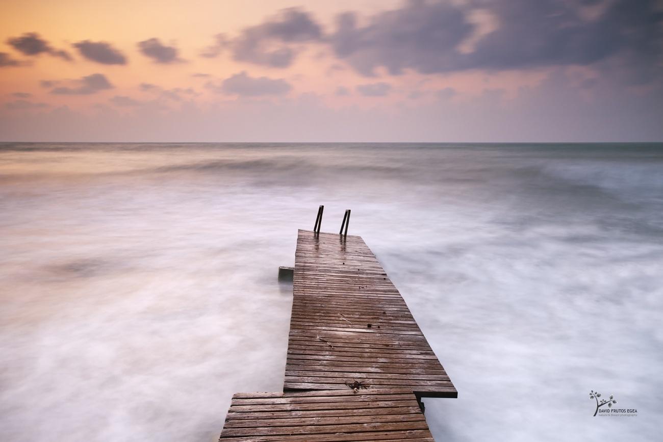 The Pier at Sunrise - Color - David Frutos Egea | Fotógrafías en color