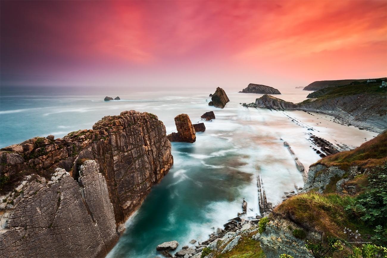 La Arnía at Sunrise - Color - David Frutos Egea   Fotógrafías en color