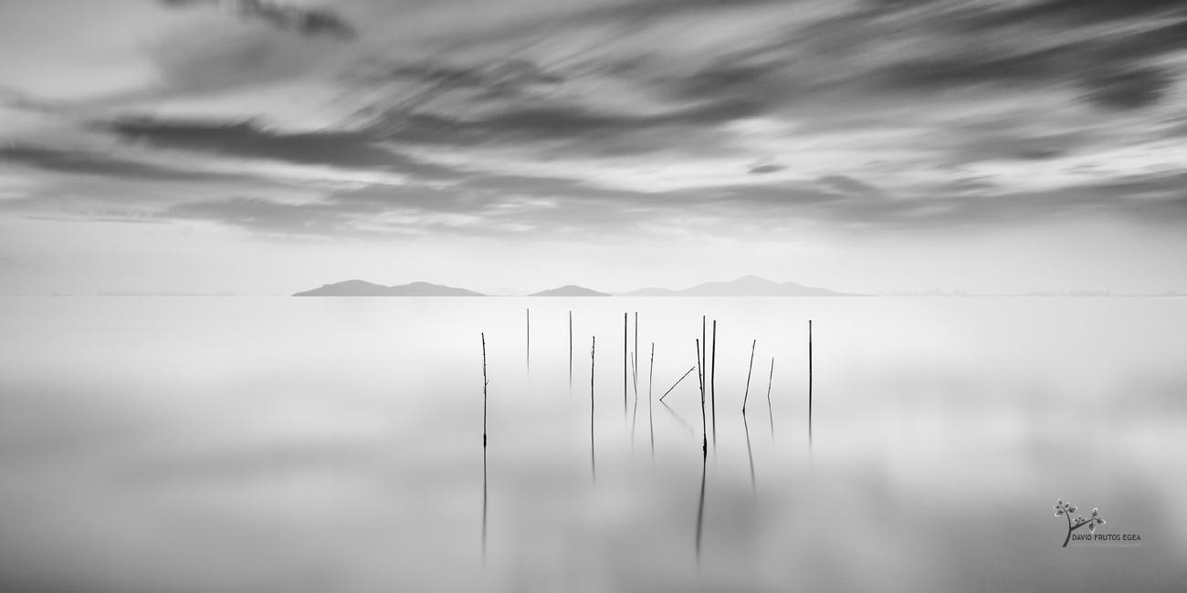 Reeds and Islands - B&N - David Frutos Egea | Fotografías en Blanco y Negro