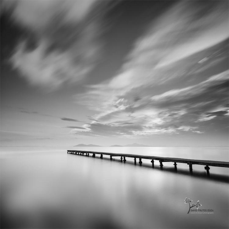 Pier and Islands - B&N - David Frutos Egea | Fotografías en Blanco y Negro