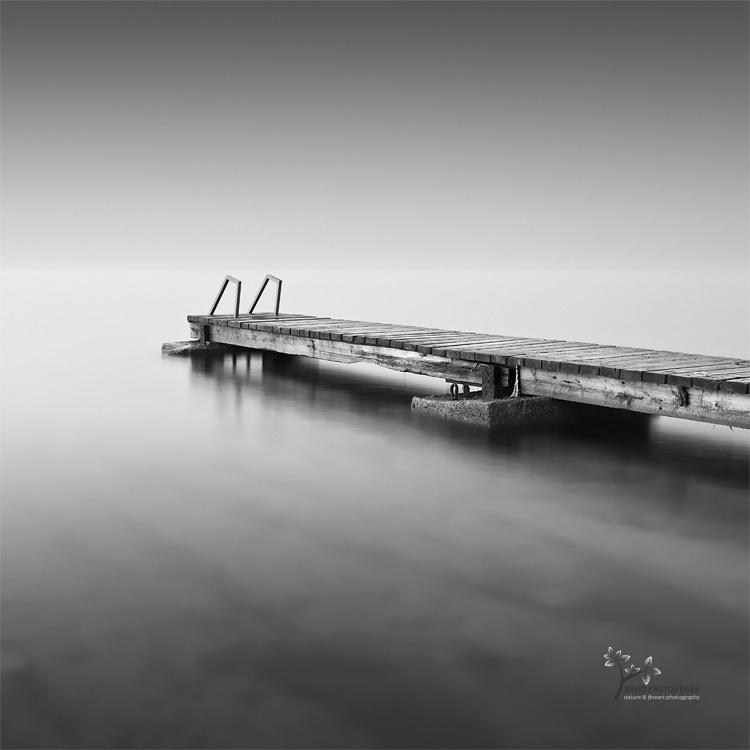 The Pier to the Infinite - B&N - David Frutos Egea - Black and white photos