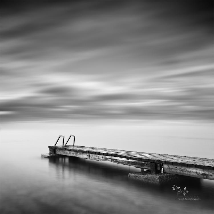 The Pier - B&N - David Frutos Egea - Black and white photos