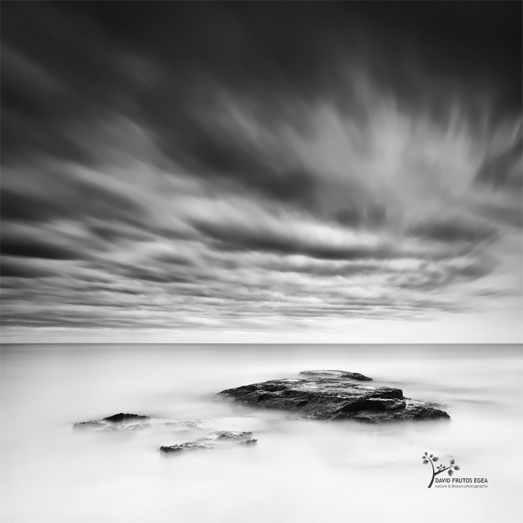 Two Minutes Under a Real Storm - B&N - David Frutos Egea | Fotografías en Blanco y Negro