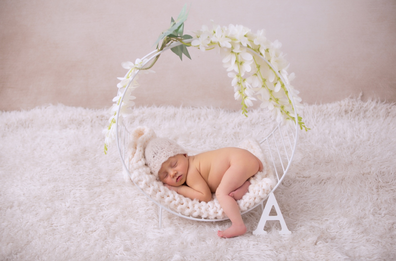 Aitana 7 días - Recién nacido [newborn] - event fotografia