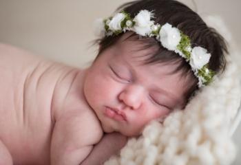 newborn corona flor