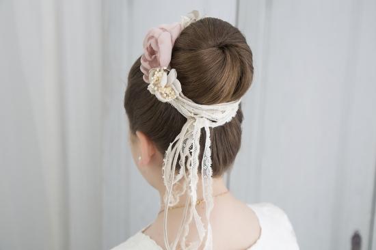 peinados originales comunión niña