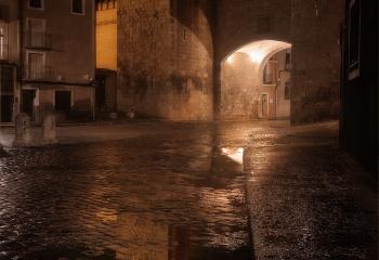 Reflejo en lluvia