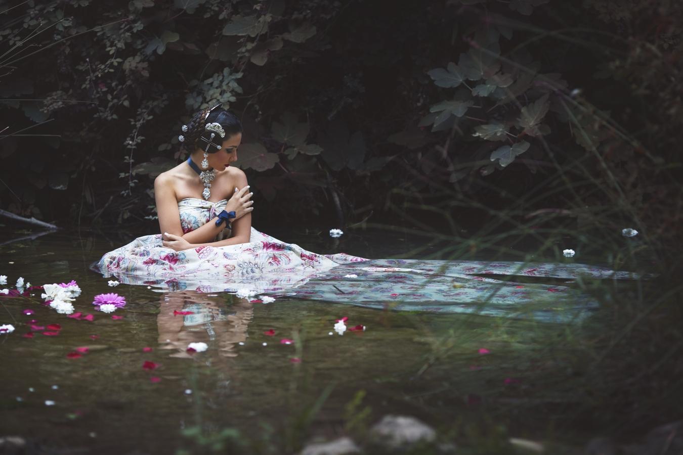 Falleras - Sesiones de fotografía artística de falleras