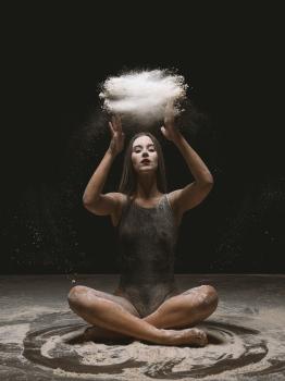 Fotos de bailarina en estudio
