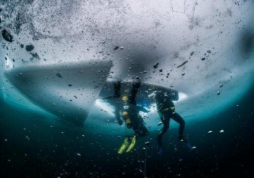 Buceo bajo hielo Panticosa
