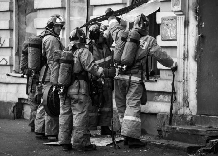 bomberos rusos
