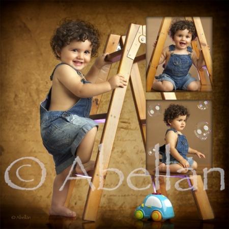 Fotos bebés ©Abellán Estudio fotográfico, Fotógrafos Murcia.