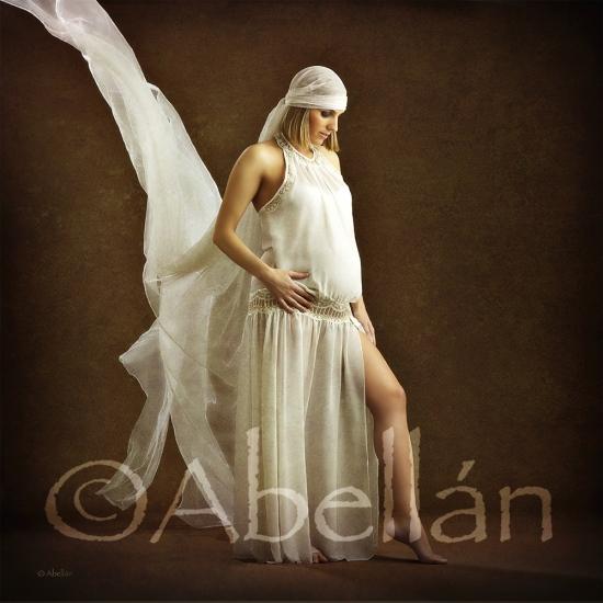Embarazada ©Abellán Estudio fotográfico, fotógrafos Murcia.