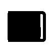 Metaphysical choreography / 2016 / Acrylic paint,  wooden strip and plexiglass  on canvas / 50x50 cm