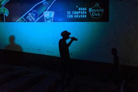 Silhouette in Trinidad , cuba, photoworkshop in trinidad cuba