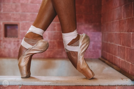 special shoes for cuban ballerinas in a old bathroom
