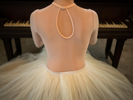 beautiful ballet dancer woman in havana