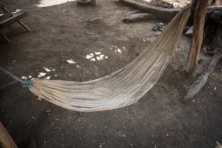 hammock in the east of cuba, anthropological photo of cuba