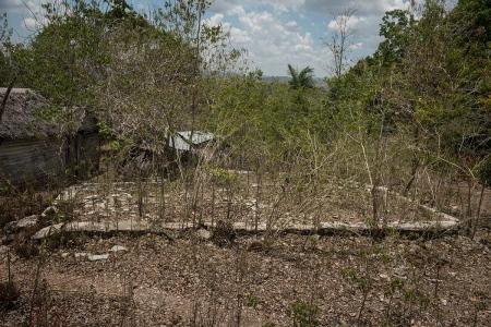 broken house in holguin, cuba