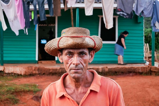 portrait of farmers in Cuba, photography travel to countryside in cuba