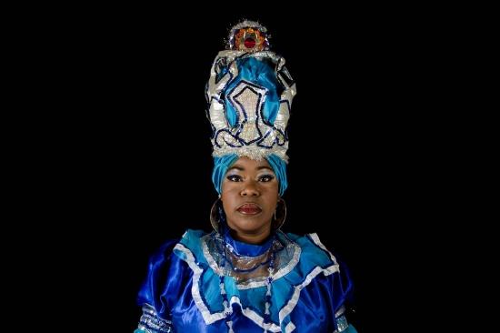 yemaya portrait, cuban orishas